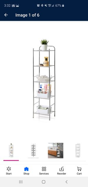 5 tier wire storage shelf for Sale in Little Rock, AR