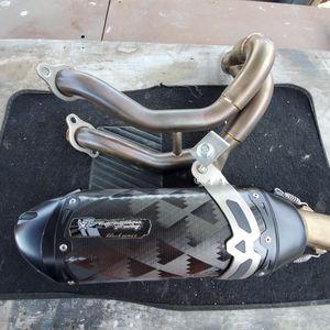 2017 kawasaki ninja 650r full exhaust for Sale in Torrance, CA