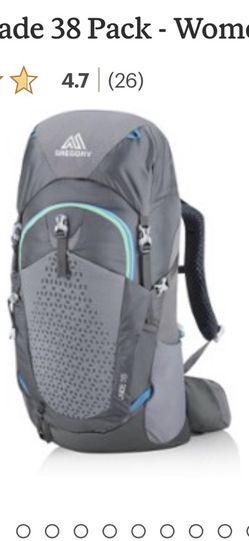 Gregory Backpack Jade 38 Women's for Sale in Wenatchee,  WA