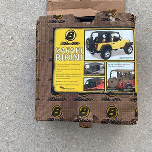 Jeep Bikini Top 4 Door Black for Sale in Hudson, FL