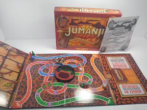 JUMANJI The Board Game, Wood Play Pieces, Cardinal Games, Complete for Sale in Cleveland, OH