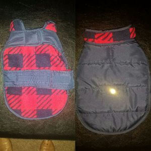 XS Dog blue and red vest for Sale in Garner, NC