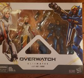 Overwatch Ultimates Mercy Ange Pharrah 2 Pack for Sale in Los Angeles,  CA