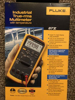 Fluke 87v True-rms w/ Temperature for Sale in Mentor, OH