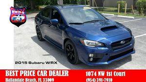 2015 Subaru WRX for Sale in Hallandale Beach, FL