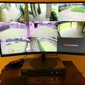 8 Security cameras System+labor- Hablo Espanol for Sale in Lewisville, TX