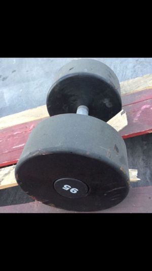 95LBS DUMBBELLS WEIGHT for Sale in San Diego, CA