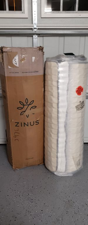 Zinus Extra Firm iCoil 10 Inch Support Plus Mattress, Full Size BRAND NEW IN BOX for Sale in Glendale, AZ