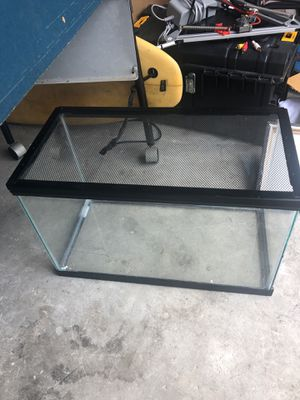 Fish tank! 20 gallons for Sale in Fort Lauderdale, FL