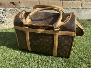 Louis Vuitton dog carrier 40 for Sale in San Jose, CA