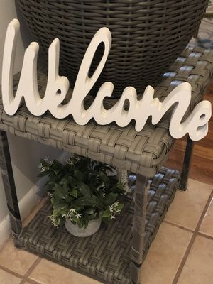 Home Decor Welcome Sign for Sale in Lanham, MD