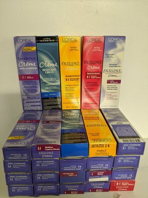 L'oreal excellence creme permanent hair color for Sale in Long Beach, CA