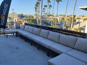 New custom design high quality aluminum modular outdoor patio furniture set for Sale in Chula Vista, CA