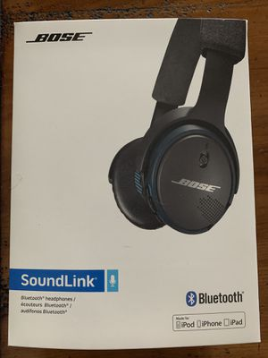 Bose Bluetooth Sound Link headphones for Sale in Miami, FL