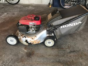 Lawn mower Honda - for parts for Sale in Fitchburg, MA