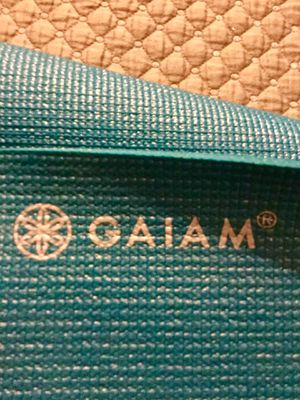 Gaiam yoga mat, bag and carrier for Sale in Edmonds, WA