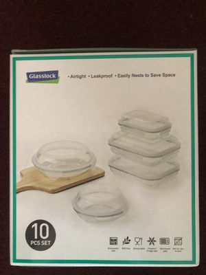 Glass Food Storage Set for Sale in Los Angeles, CA