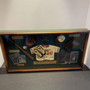 "Beautiful BABE RUTH, Orioles ""The Game of Baseball"" Glass&Wood Showcase Display for Sale in Boynton Beach, FL"