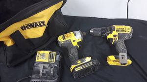Dewalt 20v Drill Driver & Impact Combo for Sale in UPR MARLBORO, MD