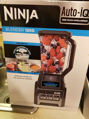 Ninja 1200watt blender new for Sale in Ijamsville, MD