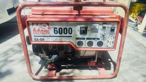 6000 watt generator for Sale in Las Vegas, NV