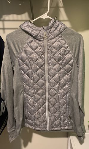 Michael Kors Grey Jacket Size M for Sale in Vancouver, WA