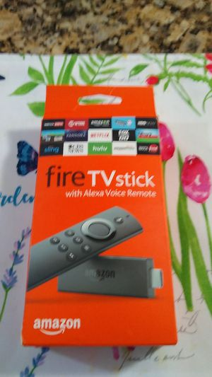 Fire TV stick Alexa Voice Remoto for Sale in Hialeah, FL