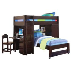 L-shape Bunk Bed With Computer Desk for Sale in Jonesboro,  GA