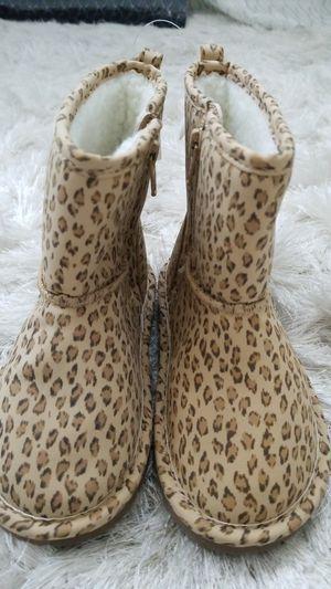 Gap kids girls leopard print boots sz 10 NWT for Sale in Philadelphia, PA