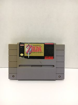 SUPER NINTENDO ZELDA A LINK TO THE PAST for Sale in Garden Grove, CA