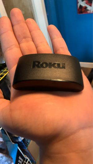 Roku. And remote and cords. HDMI cord needed! Works great! for Sale in Seattle, WA