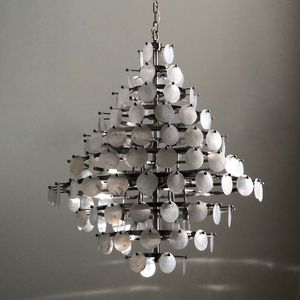 Mother Of Pearl Chandelier (Diamond Shape) for Sale in Los Angeles, CA