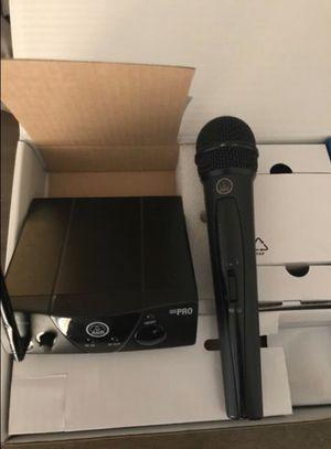 $50 wireless digital microphone AKG for Sale in Harlingen, TX