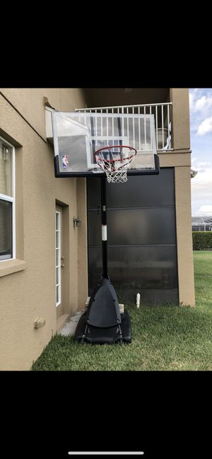 NBA BASKETBALL HOOP for Sale in Thonotosassa, FL