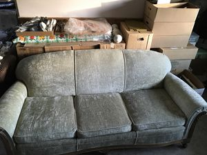 Antique matching sofa and chair for Sale in Lakewood, CO