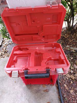 Empty Milwaukee case 18v for drill n charger n batt for Sale in Pompano Beach, FL