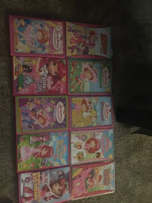 Strawberry Shortcakes DVD lot for Sale in Fullerton, CA