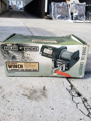 Winch with automatic load-holding brake 2000 lb. Capacity. for Sale in Queens, NY