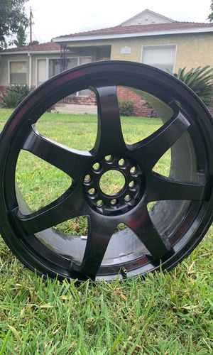 4 black rims for Sale in South Gate, CA