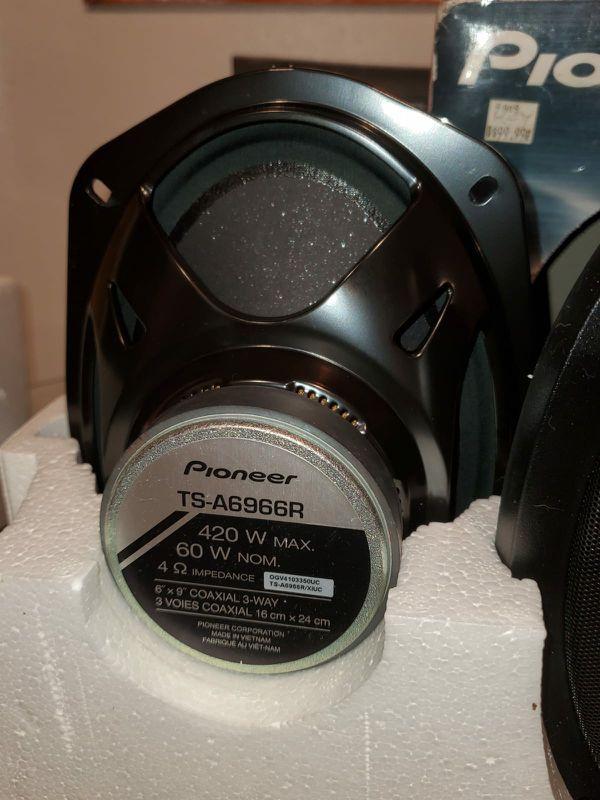 Speakers pioneer y stereo pioneer
