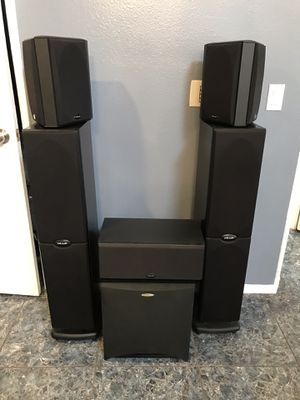 Polk Audio 5.1 Home Theatre System for Sale in ARROWHED FARM, CA