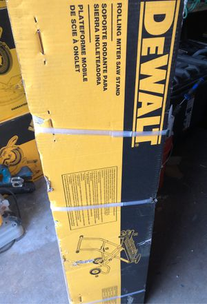 Rolling miter saw stand for Sale in Costa Mesa, CA