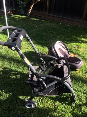 Graco baby car seat travel system for Sale in San Jose, CA