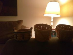 Longaberger handmade baskets for Sale in Las Vegas, NV