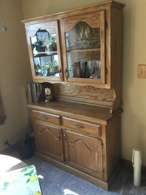 Dining Room cabinet with removable top for Sale in Gainesville, GA