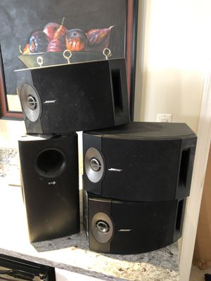 3 Bose speakers and LG sub for Sale in Washington, DC