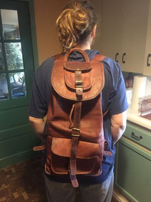 Leather backpack for Sale in Carlisle, PA