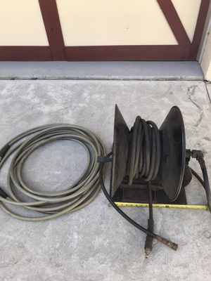 Pressure washer hose reel keeper 75' commercial industrial for Sale in Seminole, FL