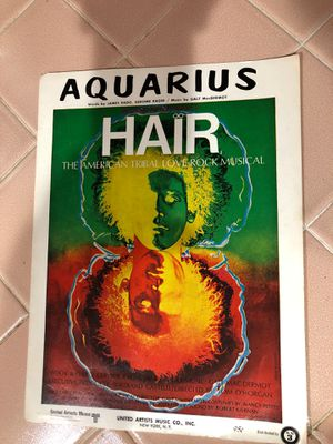 Hair sheet music for Sale in La Habra Heights, CA
