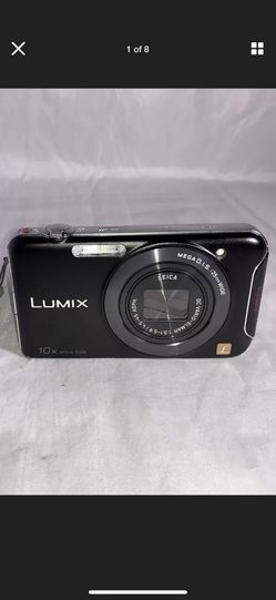 """Panasonic Compact Camera Lumix WiFi DMC-SZ5 10X Optical 20X Digital Zoom (Black). Condition is """"lightly Used"""". Does not come with memory care or char for Sale in Jupiter,  FL"""